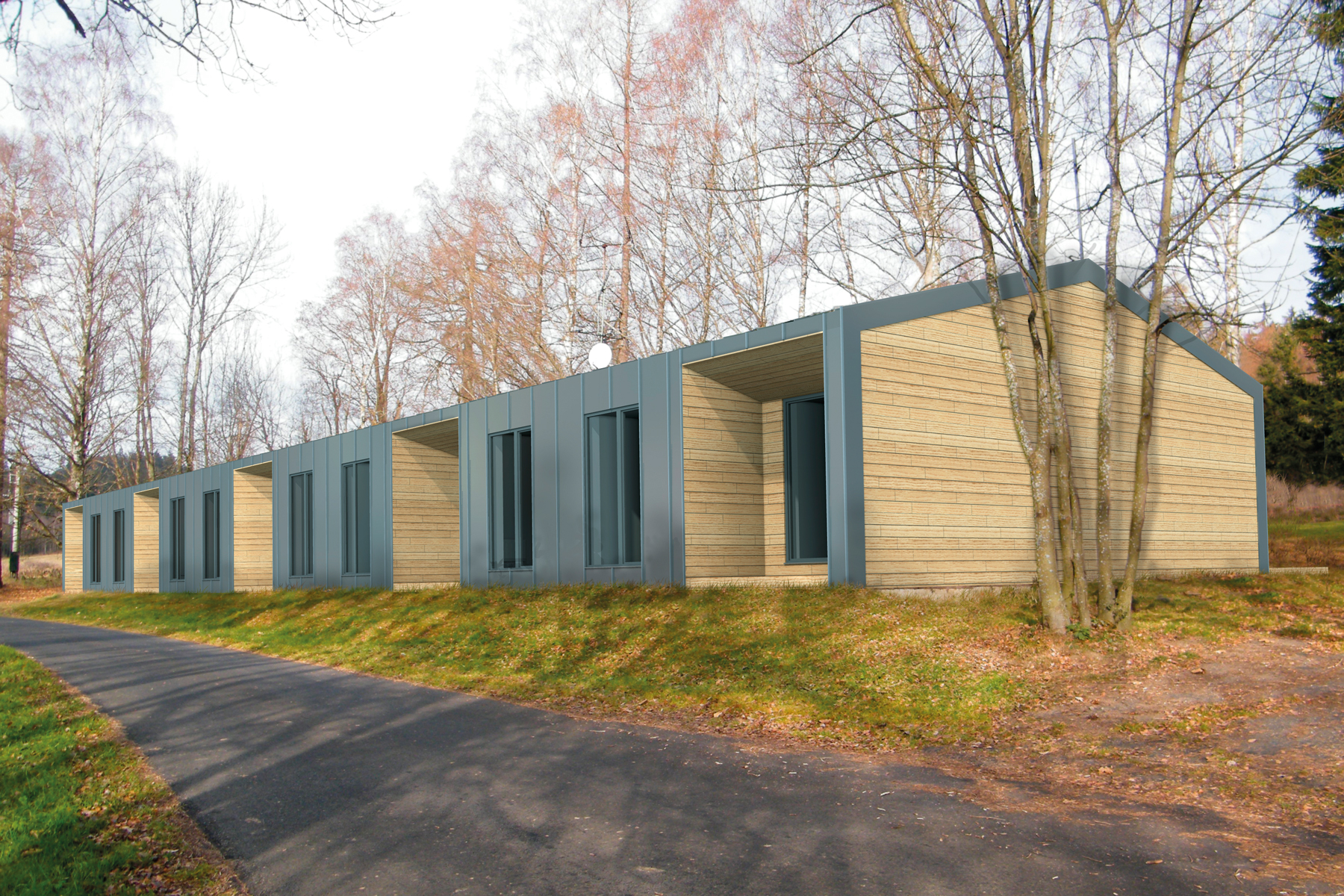RECREATIONAL RESIDENCE AT LIPNO LAKE DISTRICT