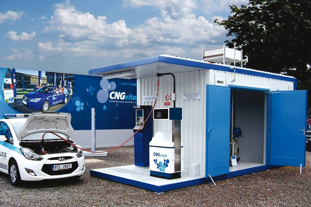 CNG MOBILE FILLING STATION