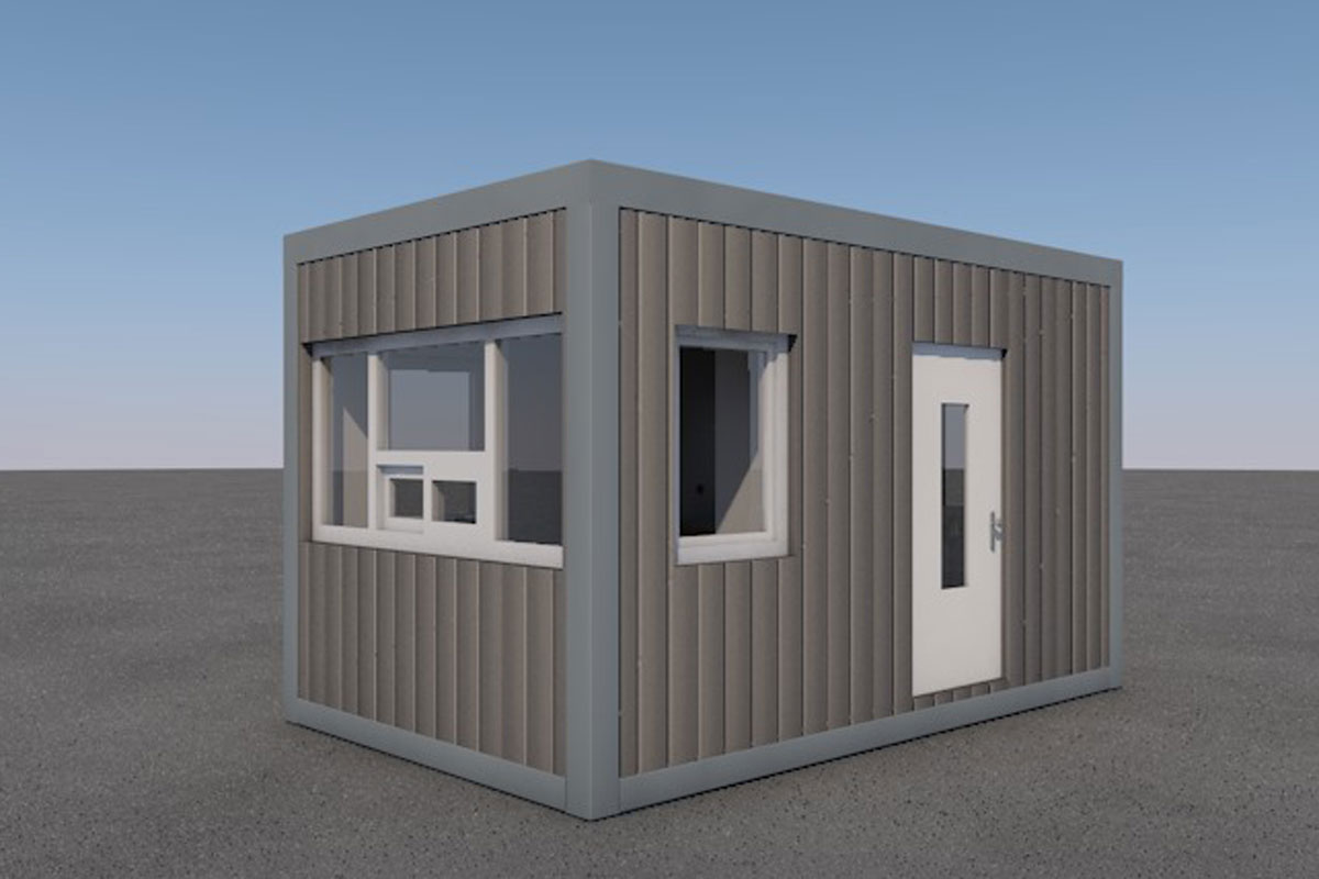 GUARD BOOTH FOR KROMEXIM