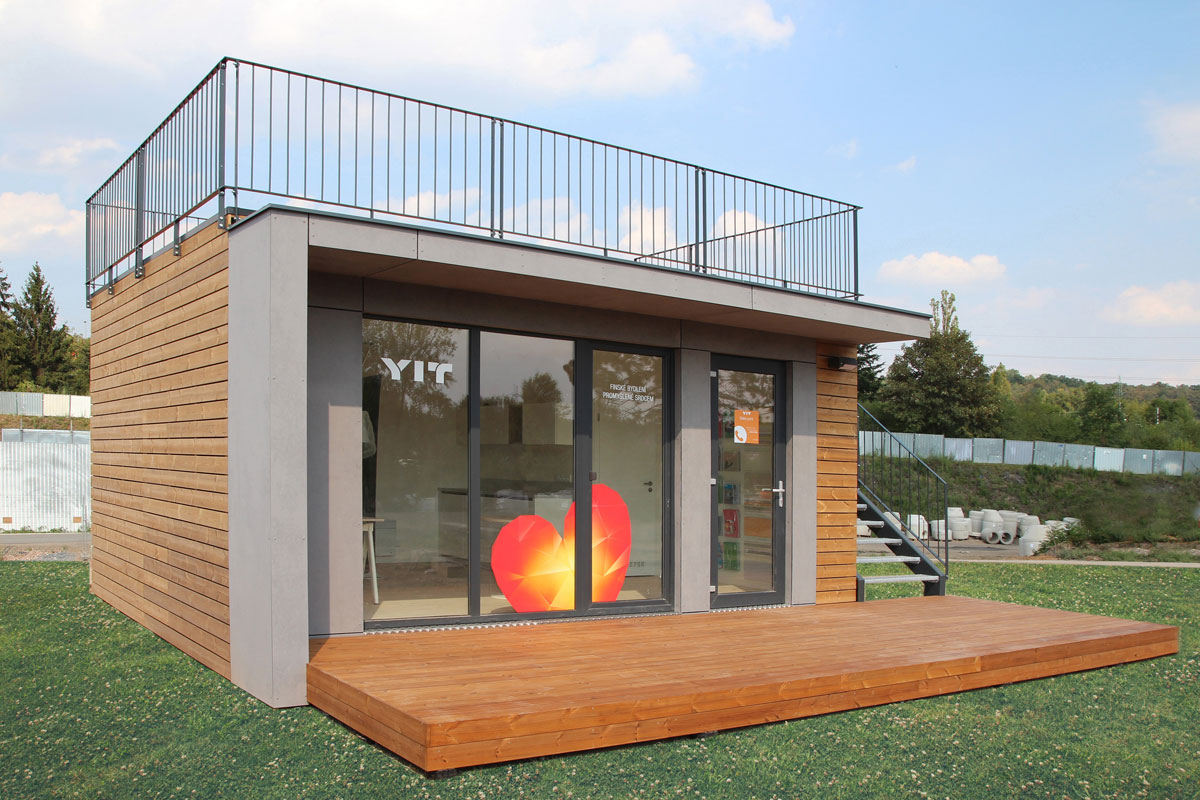 YIT SHOWROOM – PRAGUE HLOUBĚTÍN