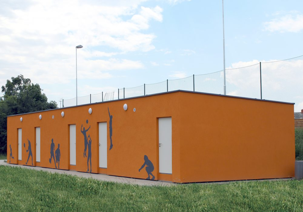 The sports back facilities from CUBESPACE in Doksy are ready and running