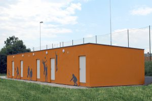 Sportanlage von CUBESPACE in Doksy in vollem Betrieb