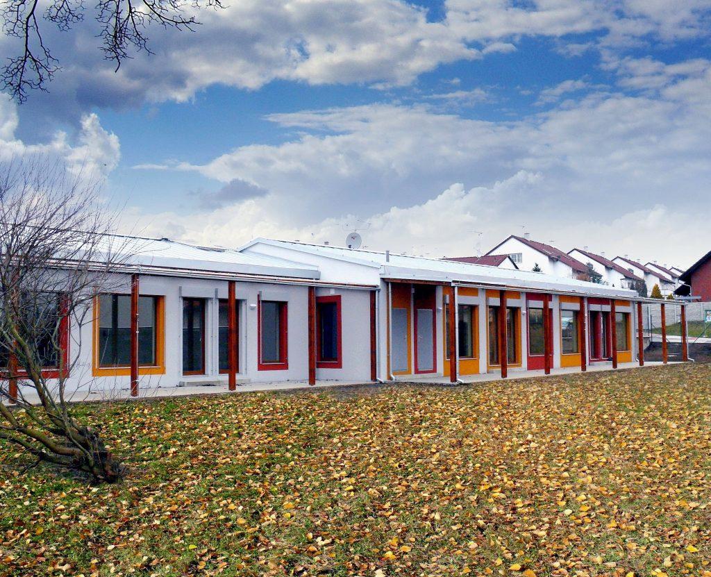 Pavilónová mateřská škola v Březiněvsi Praha